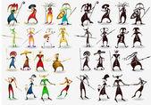Personaggio dei cartoni animati — Vettoriale Stock