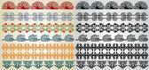 Pattern element art nouveau — Stock Vector