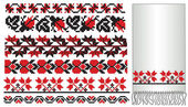 Ukrainian embroder pattern — Stock Vector