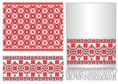 Russian ukrainian folk pattern — Stock Vector