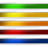 Çok renkli afiş — Stok fotoğraf