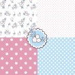 Seamless floral patterns. — Stock Vector #50584221