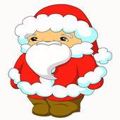 性格开朗的圣诞老人 — 图库照片
