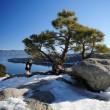 Emerald Bay viewpoint, Lake Tahoe — Stock Photo