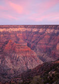 Delicate sunset colors over Grand Canyon — Stock Photo