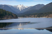 Capilano Lake, North Vancouver — Stock Photo