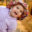 Infant girl goofing around — Stock Photo #36858183