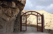 Gate o Monastery of St. George — Stock Photo