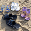 Stock Photo: Beach shoes
