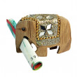 Elephant symbolises riches — Stock Photo #36086589
