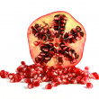 Half of a pomegranate — Stock Photo