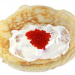 Pile of the pancakes — Stock Photo