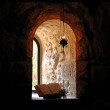 Monastic window — Stock Photo
