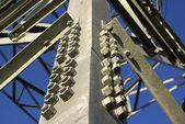 Elektryczne pylonu — Zdjęcie stockowe