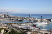 Port of Barcelona — Stock Photo