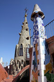 Palace Guell — Stock Photo