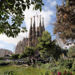 Stock Photo: Temple of SagradFamilia