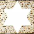Matzah and magendavid — Stock Photo #37954965