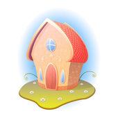 Cartoon home — Stock Vector