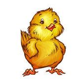Cartoon chick — Stock Vector