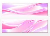 Elemento di design onda colore astratto — Vettoriale Stock