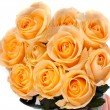 Beautiful bouquet of yellow roses — ストック写真