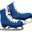 Skates on white — Stock Photo
