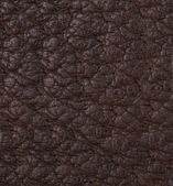 Black leather texture or background — Stock Photo