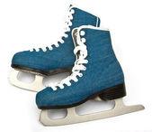 Skates on white — Stock Photo