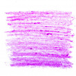 Colorful wax brush strokes — Stock Photo