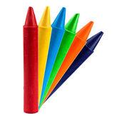 Colored vax pencil — Stock Photo