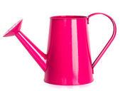 Pink watering can — Stok fotoğraf