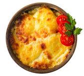 Cheese and tomato sauce — Stockfoto