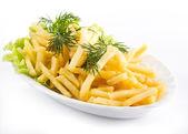 Französisch frites — Stockfoto