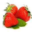 Appetizing fresh sweet strawberry — Stock Photo