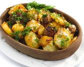Aardappel stoofpot — Stockfoto
