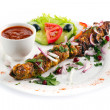 Kebab isolated — Stock Photo