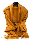 Gold scarf — Stock fotografie