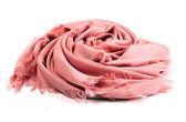 Pink scarf — Stock fotografie