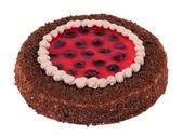 Pie strawberry creamy — Stockfoto