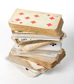 Old card game — Stock Photo