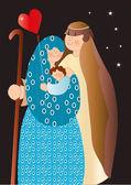 Nativity — Stock Vector