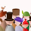 Hats — Vector de stock #36570931