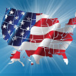 USA Map — Stock Photo #40082553