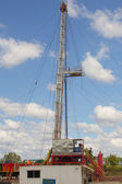 The geological exploration drilling small. — Stock Photo