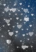 Herzen textur hintergrund, valentin von e tag hintergrund mit herzen — Stockfoto