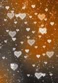 Hearts texture background,Valentin e's day background with hearts — Foto de Stock