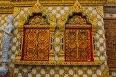 Gateway into the Buddhist church,Wat in Thailand — Stock Photo