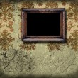 Empty frame on old wall — Stock Photo #37098275