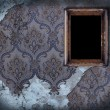 Empty frame on old wall — Stock Photo